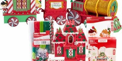 60% off ALL Christmas Kids' Craft Kits