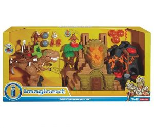 $56.24 (was $99.99) Fisher-Price Imaginext Dino Fortress Gift Set