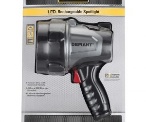 $7.49 (was $24.97) Rechargeable LED Work Spotlight