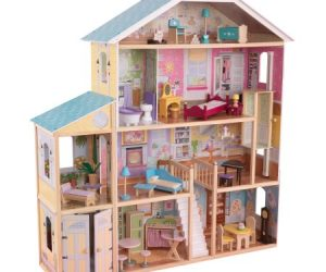 $148.14 (was $219) KidKraft Majestic Mansion Dollhouse with 34 Accessories