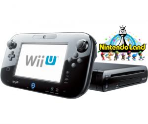 $175 (was $299.99) Black Wii U 32GB Deluxe + Nintendo Land – FACTORY REFURBISHED BY NINTENDO