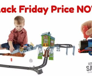 Black Friday NOW! | $24.99  Thomas & Friends TrackMaster Fiery Rescue Train Set
