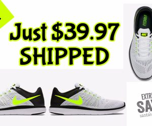 $39.97 (was $80) Nike Flex Running Shoes