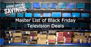 Black Friday Television Deals