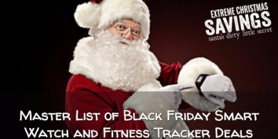 Master List of Black Friday Fitness Tracker and Smart Watch Deals