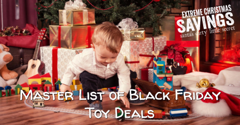 Master List of Black Friday Toy Deals