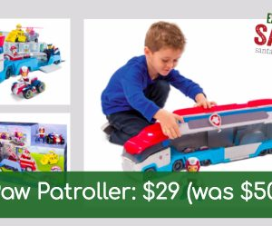 Paw Patroller just $29.99 (Was $50)