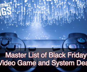 Black Friday Video Game and System List