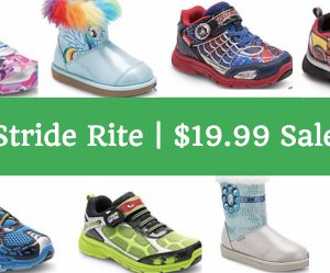 $19.99 BLOWOUT (was $55) | Stride Rite Character Shoes