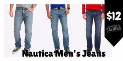 $12 (was $45) Men's Nautica Jeans ...