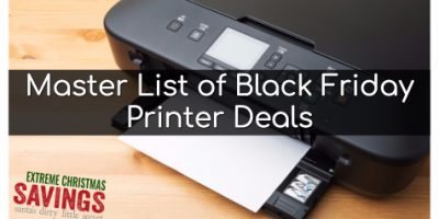 Master List of Black Friday Printer Deal...