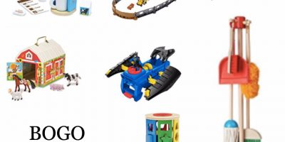 Amazon Toy Deal: Buy One Get One 50% Off...