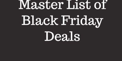 Master List of All Black Friday Comparisons