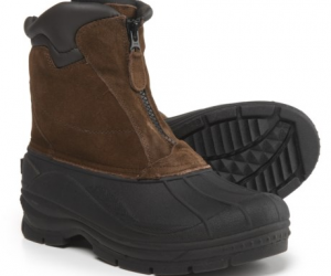 $29.99 (was $59.99) Men's Totes Glacier Front-Zip Pac Boots – Waterproof, Insulated