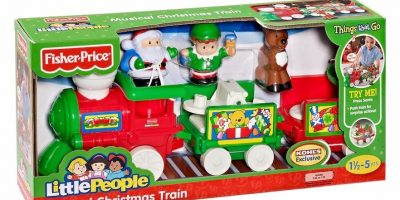$22.57 (was $42.99) Fisher-Price Little People Musical Christmas Train