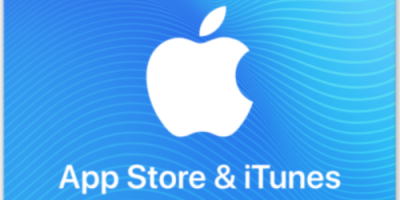$85 (was $100) App Store And iTunes Code
