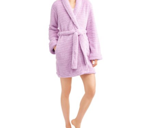 $6 (was $16.97) Body Candy Women's Lurex Plus Robe