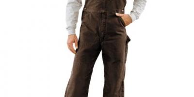 $59.99 (was $109.99) Men's Carhartt Quilt-Lined Bib Overalls – Sandstone Duck