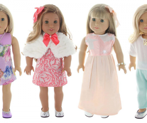 Starting At $24.99 (was $39.95+) Doll Outfits and Accessories Sets