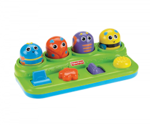 $8.04 (was $22.99) Fisher-Price Brilliant Basics Boppin' Activity Bugs!