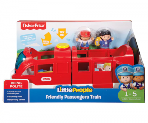 $11.24 (was $24.99) Fisher-Price Little People Friendly Passengers Train