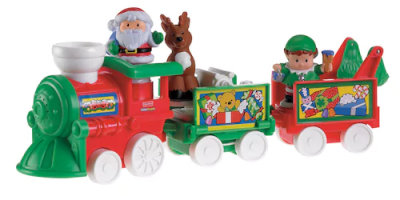 $18.05 (was $42.99) Fisher-Price Little People Musical Christmas Train