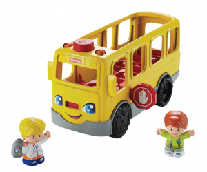 $8.74 (was $24.99) Fisher-Price Little People Sit with Me School Bus