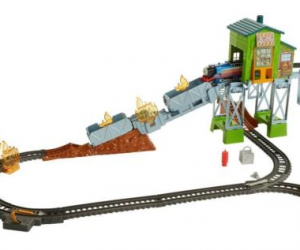 $22.49 (was $49.99) Fisher-Price Thomas & Friends TrackMaster Fiery Rescue Train Set