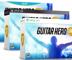 $17.99 (was $49.99) Guitar Hero Live Bundle