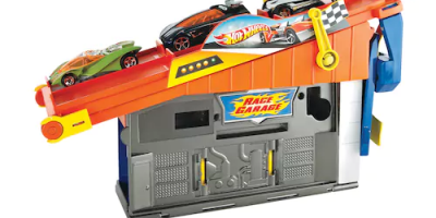 $5.99 (was $19.99) Hot Wheels Rooftop Race Garage Playset
