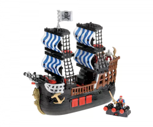 $22.30 (was $69.99) Imaginext Pirate Ship by Fisher-Price