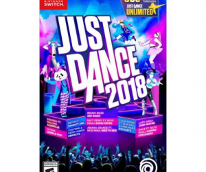 $39.99 (was $59.99) Just Dance 2018 – Nintendo Switch