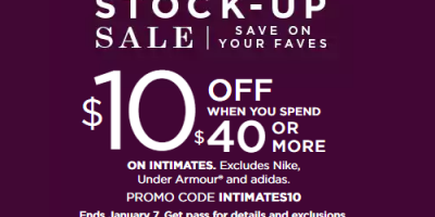 Stackable Codes At Kohl's For Intimates