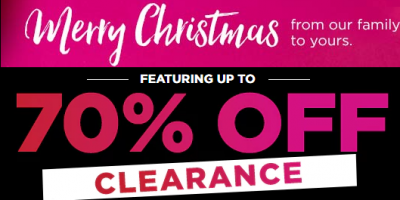 up to 70 Percent Off Clearance Kohl's After Christmas Sale And Extra 25 Percent Off With Code