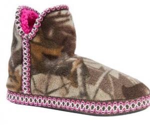 $13.22 (was $39.49) MUK LUKS Women's Camo Fleece Amira Slipper