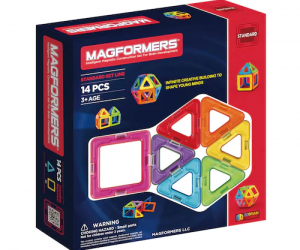 $13.99 (was $24.99) Magformers 14-pc. Rainbow Set