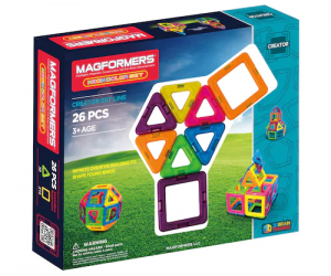 $21.59 (was $44.99) Magformers 26-pc. Neon The Best Starter Set