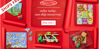 Huge Melissa And Doug Sale On Zulily Wit...