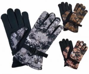 $4.99 (was $14.99) Men's Nochilla Camouflage Ski Gloves w/ Grips