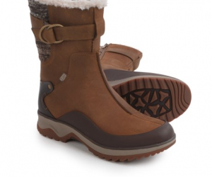 $99.99 (was $190) Women's Merrell Eventyr Mid North Leather Boots – Waterproof, Insulated