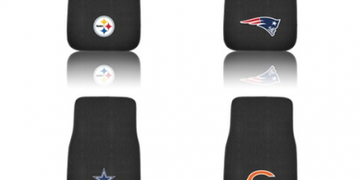 $14.99 (was $29.99) NFL Embroidered Car Mat Set (2-Piece)