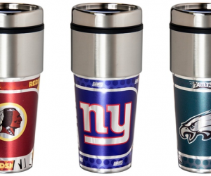 $16.99 (was $21.99) NFL Stainless Steel Tumbler