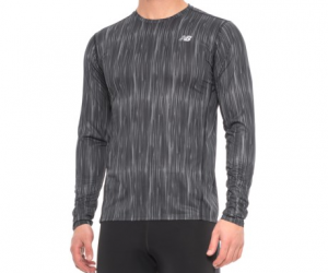 $12.99 (was $26) Men's New Balance Accelerate Graphic T-Shirt – Long Sleeve