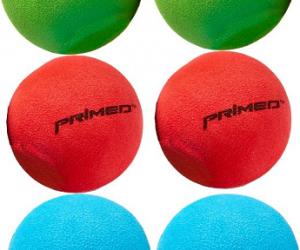 $1.99 (was $3.99) PRIMED Knee Hockey Balls – 6 Pack