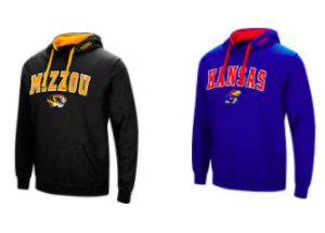 $15.99 (was $40) NCAA Hoodies + Free Shipping
