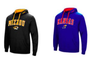$15.99 (was $40) NCAA Hoodies + Free Shipping