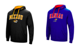 $15.99 (was $40) NCAA Hoodies + Free Shi...
