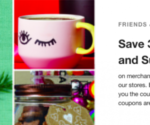 Starbucks Friends and family coupon