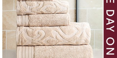$19.49 (was $88+) Six-Piece Towel Set