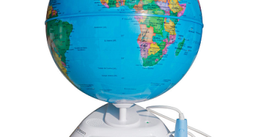 $34.99 (was $79.99) Smart Globe Discovery SG268 – Interactive With Pen by Oregon Scientific